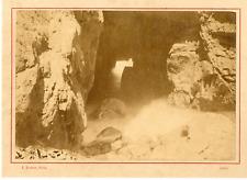 E. Baudoux. Royaume-Uni, Jersey vintage albumen print.  Tirage albuminé  11x