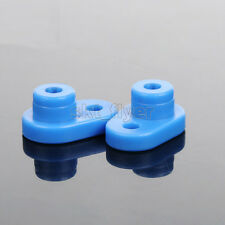 5pcs Blue Car Robotic Arm Curved  Connect Strip Shaft Axis Bar For Car Model Toy