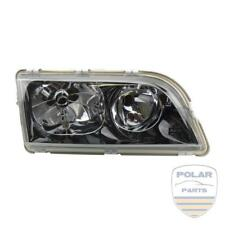 Faro derecho Volvo S40 V40 Vidrio transparente negro