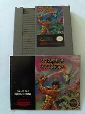 Nintendo Classic NES 1987 Wizards And Warriors Video Game