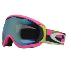 5df2c7aa2b Oakley 57-867 CANOPY Digi Camo Green Pink Emerald Lens Unisex Snow Ski  Goggles .