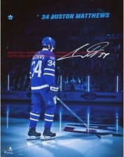 Auston Matthews Toronto Maple Leafs Autographed 8x10 Photo (RP)