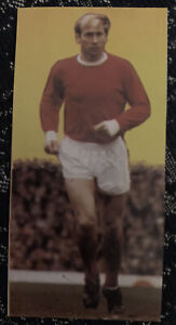 Sir Bobby Charlton Great Captains Wizard Card Manchester United Football