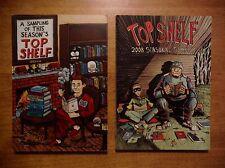 Top Shelf Seasonal Sampler lot (2007 & 2008) League of Extraordinary Gentlemen
