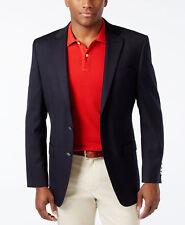 $295 MICHAEL KORS Mens Classic Fit Wool Sport Coat Blue SUIT JACKET BLAZER 38 S