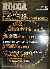 * ROCCA N°15-16/ 1-15/AGO/1973 : quindicinale della pro civitate christiana *