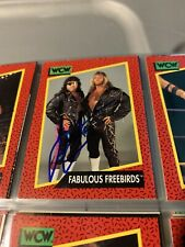 3 different autographed JIMMY GARVIN WCW wrestling cards