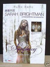 "SARAH BRIGHTMAN ""SYMPHONY - LIVE IN VIENNA"" HONG KONG STANDUP DISPLAY"