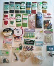 Vintage Sewing Notions Craft Scrapbook Supplies Rick Rack Lace Embellishment +