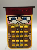 "Texas Instruments ""Little Professor"" TI 1978 Math Learning Quiz Calculator G02"