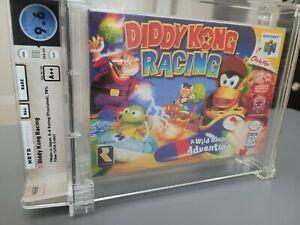 Diddy Kong Racing NEW Sealed N64 Game.  Wata 9.6 A++ MINT! Nintendo Graded Kart