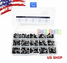 600pcs 15value (A1015 - 2N5551) Bipolar Signal Transistor TO-92 NPN PNP DIY kit