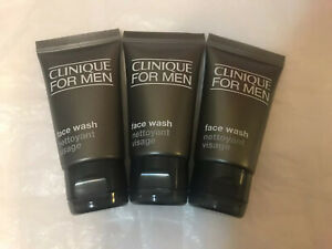 Clinique For Men Face Wash - Normal To Dry Skin - 30ml X 3 New