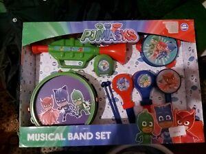 PJ MASKS Musical Band Set Ideal Gift!