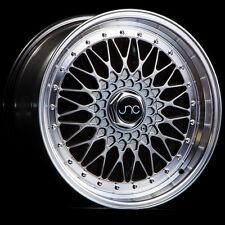 16x8 JNC JNC004 004 4x100/4x114.3 20 Hyper Black Wheel New set(4)