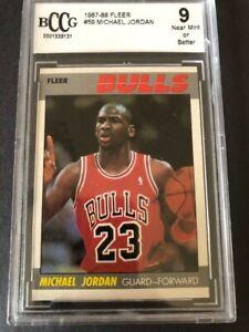 MIchael Jordan 1987 Fleer #59 Chicago Bulls