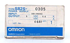 OMRON S82S-0305 POWER SUPPLY 100-240VAC 0.6A
