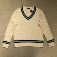 Ralph Lauren Cricket Jumper - Polo Ralph Lauren Cable Knit Cricket Jumper