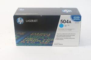 HP 504A Cyan Print Cartridge - New
