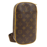 LOUIS VUITTON POCHETTE GANGE CROSS BODY BUM BAG CA0020 MONOGRAM M51870 01283
