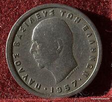 GRECE  1 drachma 1957 GREECE  MO168