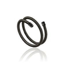 Collana Bracciale Uomo Breil New Snake acciaio IP Gun cm.39 Ref. TJ2791