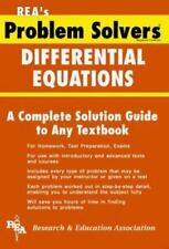 Problem Solvers Solution Guides: Differential Equations Problem Solver by...