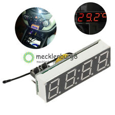 DS3231SN 3 in 1 LED Digital Clock Temperature Voltage Module DIY Electronic NEW