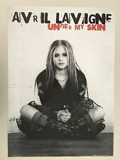 Avril Lavigne,Under My Skin, Rare Authentic 2004 Poster