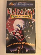 Killer Klowns From Outer Space VHS Sealed