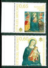 2009 Vatican City Sc# 1432-3: Christmas 2009 MNH