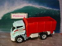 2018 OCEAN WORKS Design TILT 'N TIP truck☆Blue;Construction☆BEACH☆Matchbox LOOSE