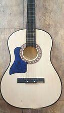 Pickguard for Taylor style acoustic Blue Black Celluloid Left Handed