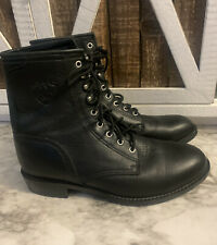 Ariat Mens Roper Boots Black Size 8.5 Lace Up