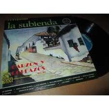 GARZON Y COLLAZOS - la subienda - LATIN FOLK POP - COLOMBIA SONOLUX Lp