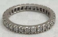 Diamond  Eternity Ring Antique 18ct Gold
