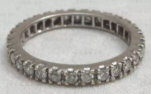 Diamond  Eternity Ring Antique 18ct Gold