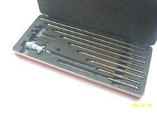 Starrett 124 M Metric Inside Mic Micrometer Set Satin Chrome 0 300mm