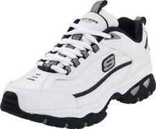 Skechers Sport Men's Energy Afterburn Lace-Up Sneaker,XWhite/Navy,10.5 XW US