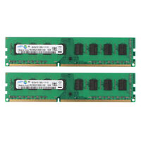 For Samsung 8GB 2X 4GB PC3-12800U DDR3 1600MHz Desktop Memory RAM Only for AMD