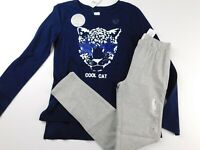 NWT GAP Girl's 2 Pc Outfit Flip Sequin T-Shirt Cool Cat/Leggings XS S M XXL New