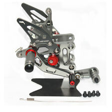 2017-2018 SUZUKI GSXR1000 GSX-R1000 L7-L8 Rearsets Foot pegs Rear sets set Gray