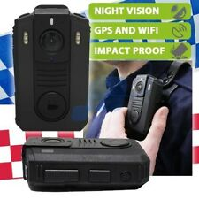 Andatech Police Military Security Body Camera HD Night Vision GPS Wifi 32GB 9Hrs
