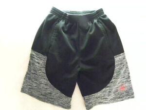 Boys' Body Glove Black/Gray Polyester Athletic Shorts Size 7