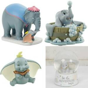Walt Disney by Widdop Dumbo, Jumbo & Dumbo Figur, Schneekugel *NEU & OVP*