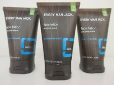 3 EVERY MAN JACK / FACE LOTION & POST-SHAVE / SIGNATURE MINT 4.2 FL. OZ. BB 2409