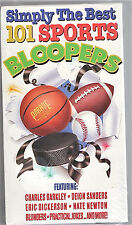 """SIMPLY THE BEST 1091 SPORTS BLOOPERS""-- VHS--SEALED NEVER PLAYED--MINT"