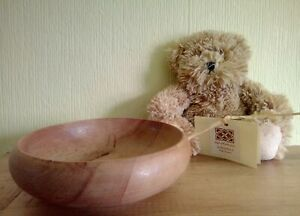 Small Hand Turned Wooden Bowl