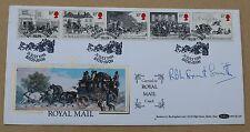 La ROYAL MAIL 1984 BENHAM FDC bagno mailcoach H/S, firmata dal Signor fromant Smith