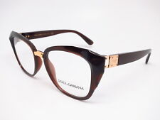 d0b6b102970 New Dolce   Gabbana DG 5041 3159 Transparent Brown Gold Eyeglasses 51mm  Rx-able